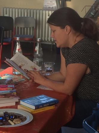Zwei Lesungen im Rahmen der Braunschweiger Jugendbuchwoche 2018