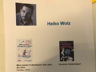 Autorenlesung- Heiko Wolz besucht uns!