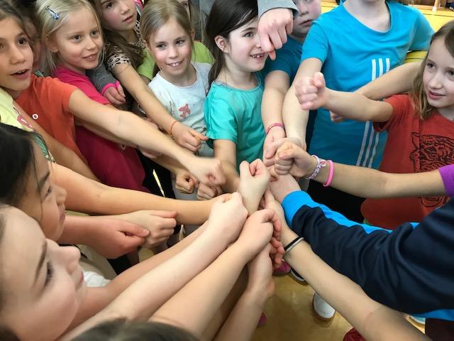 Schnuppertraining Basketball für die Mädchen der 2. und 3. Klassen