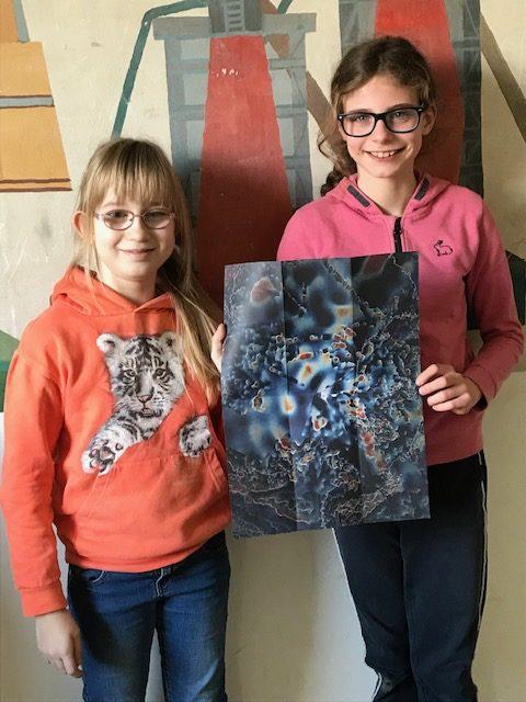Unser Ausflug ins Kunstmuseum- heute schreiben Anna und Helena aus der 4b