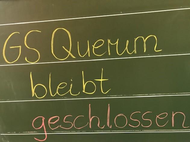 GS Querum bleibt vom 16.03-18.04.2020 geschlossen